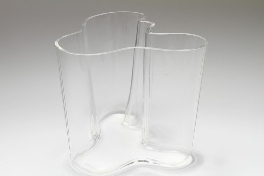 Alvar Aalto Danish Mid-Century Modern Iittala Vase - 3