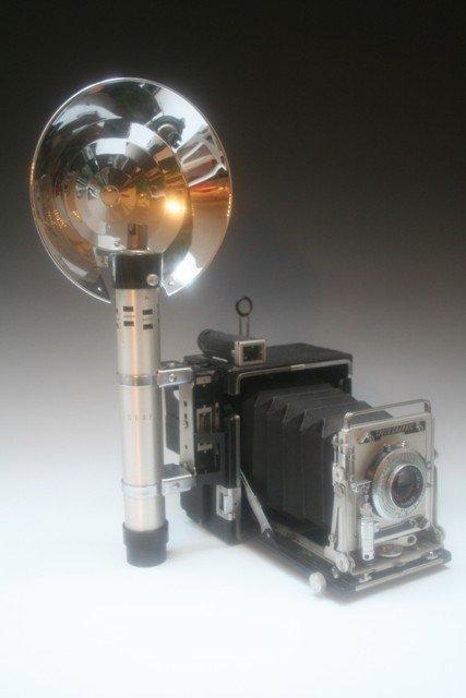 13: Vintage Graflex Pacemaker Speed Graphic Camera