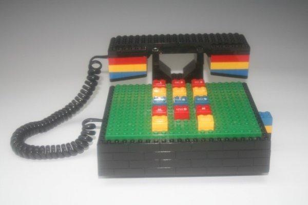 18: Vintage Tyco Industries Lego Phone
