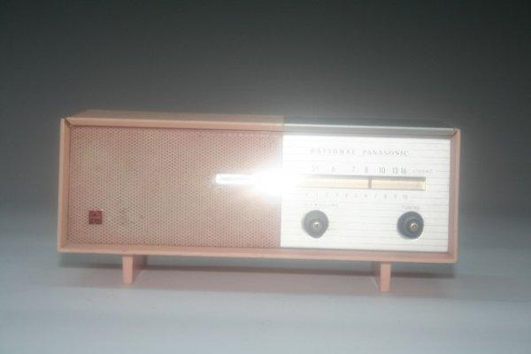 47: Mini Pink Panasonic Transistor Radio Consol