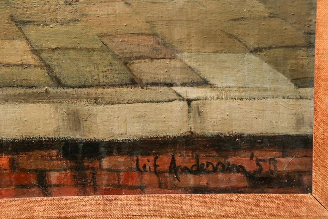 "Leif Anderson ""Venezia"" Oil on Canvas - 2"