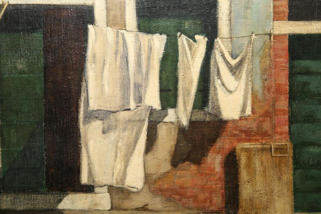 "Leif Anderson ""Venezia"" Oil on Canvas - 4"