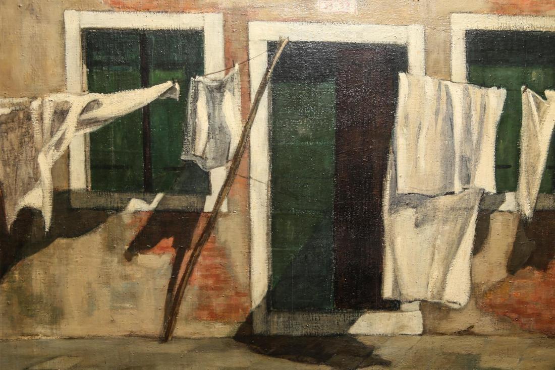 "Leif Anderson ""Venezia"" Oil on Canvas - 5"
