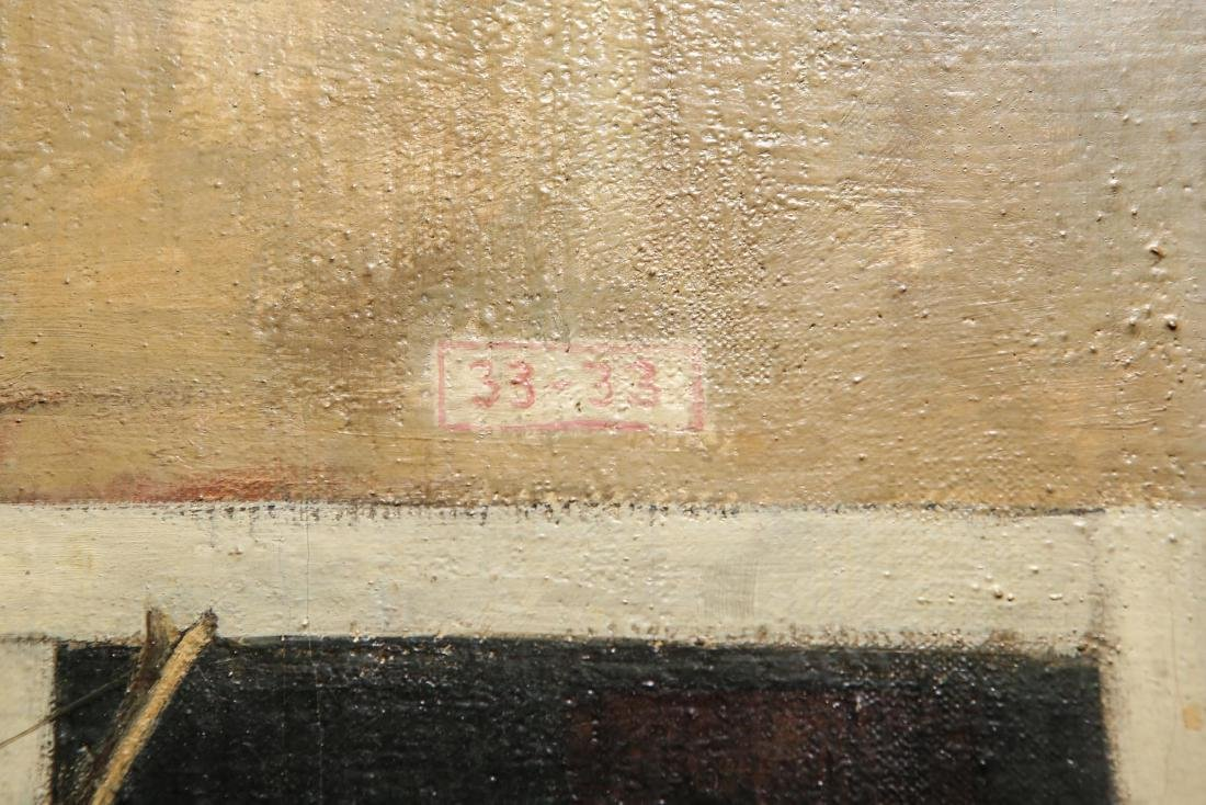 "Leif Anderson ""Venezia"" Oil on Canvas - 6"