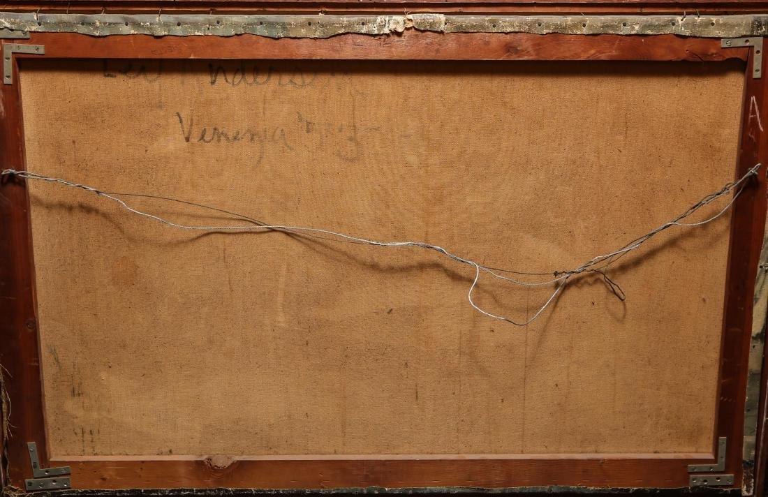 "Leif Anderson ""Venezia"" Oil on Canvas - 7"