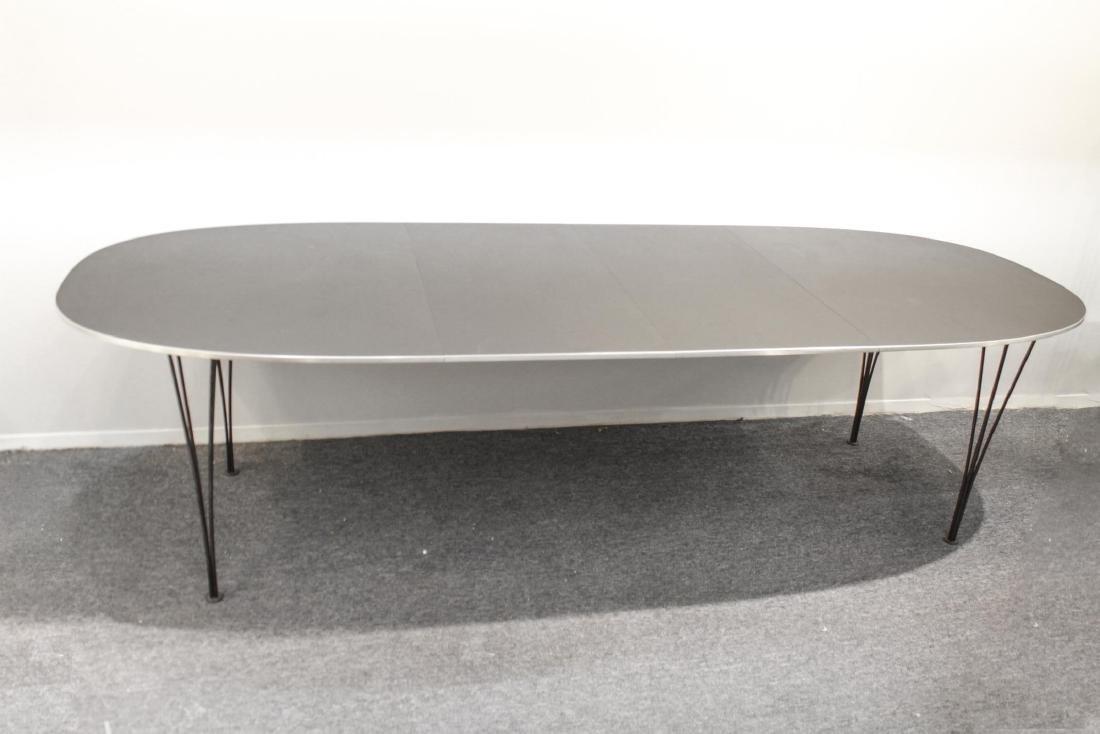 Fritz Hansen Danish Modern Dining Table, 1978