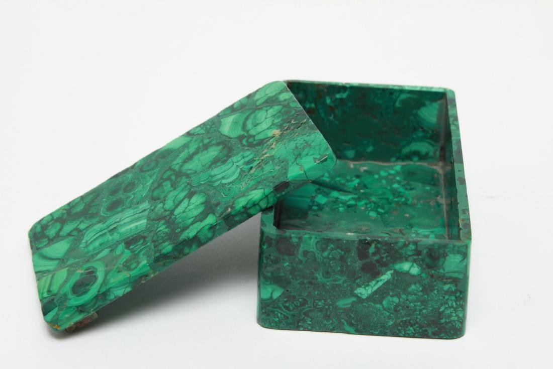 Malachite Trinket Box - 3