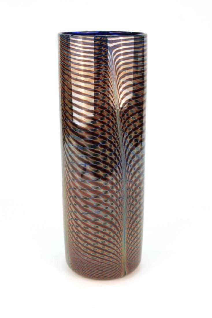 Michael David & Kit Karbler Cylinder Glass Vase - 2