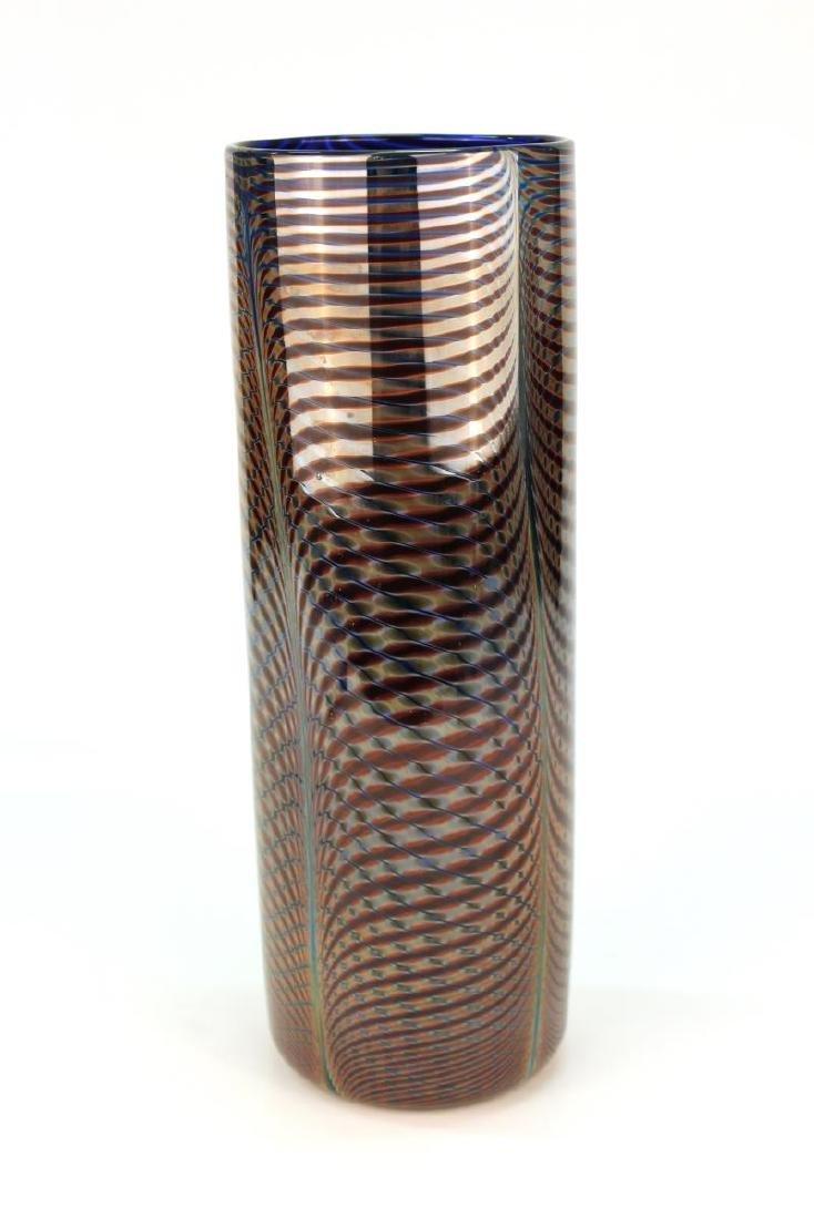 Michael David & Kit Karbler Cylinder Glass Vase - 3