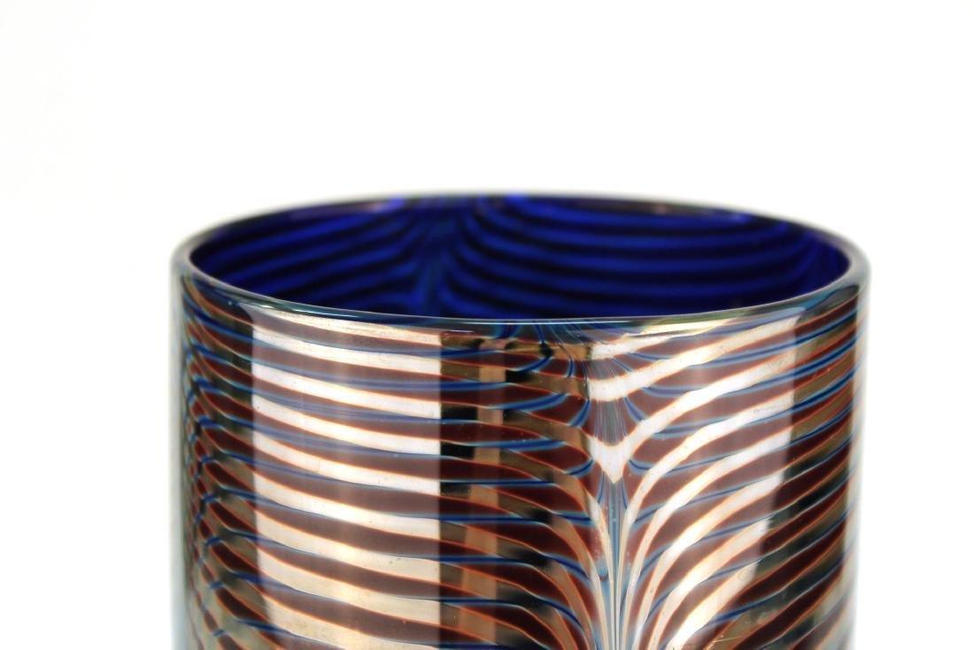 Michael David & Kit Karbler Cylinder Glass Vase - 5