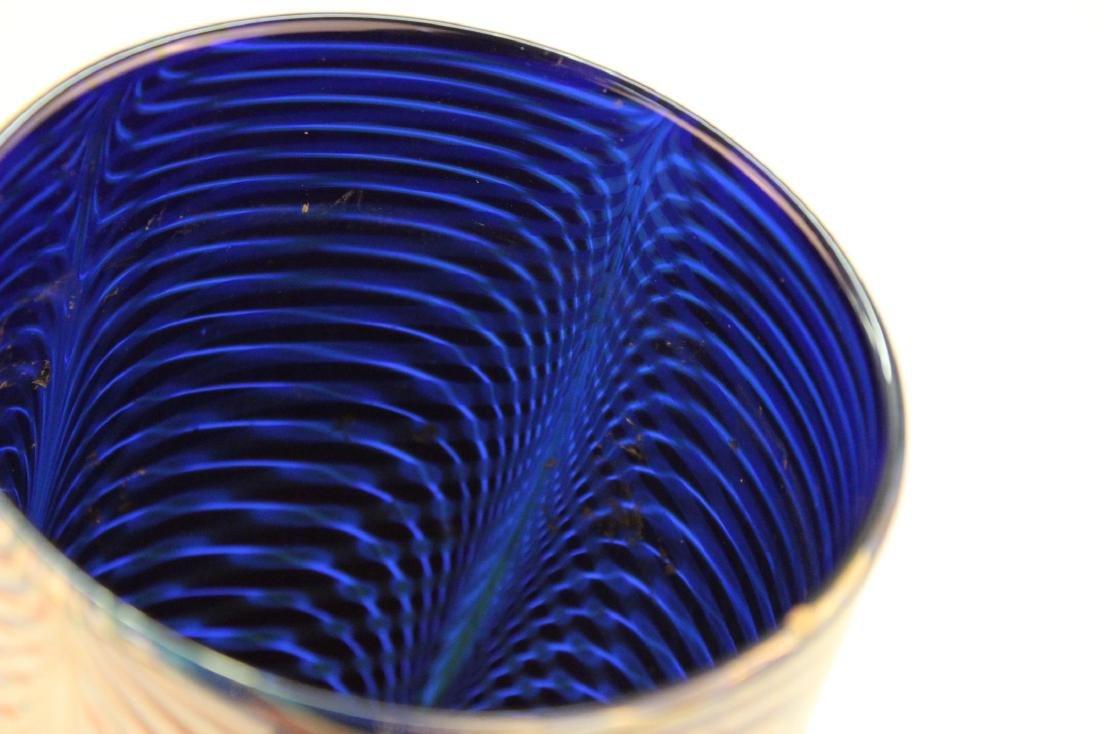 Michael David & Kit Karbler Cylinder Glass Vase - 6