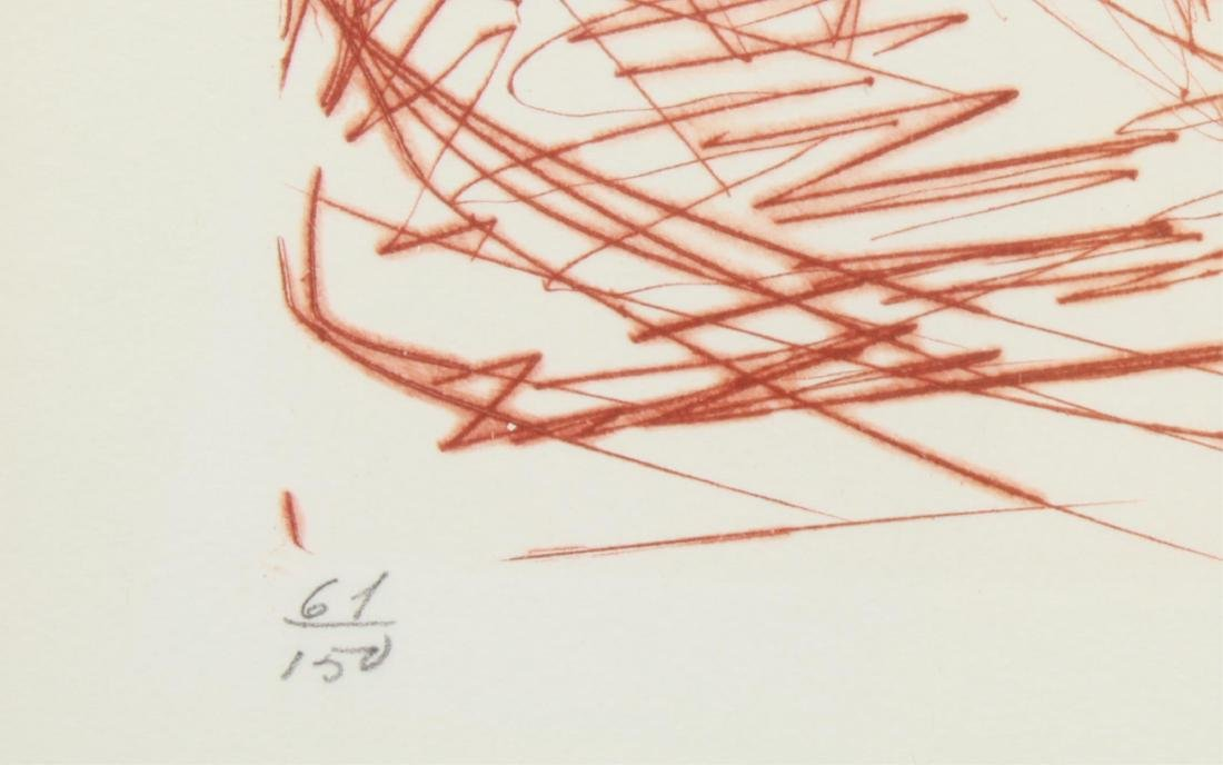 """Salvador Dali """"Rembrandt"""" Drypoint Etching - 3"""