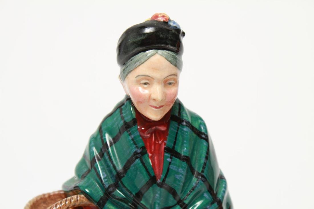 Royal Doulton Porcelain Figurines, 2 Vintage - 2