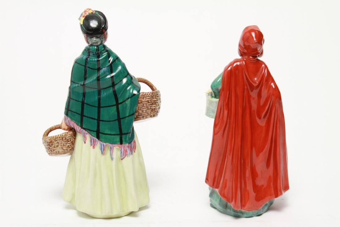 Royal Doulton Porcelain Figurines, 2 Vintage - 7