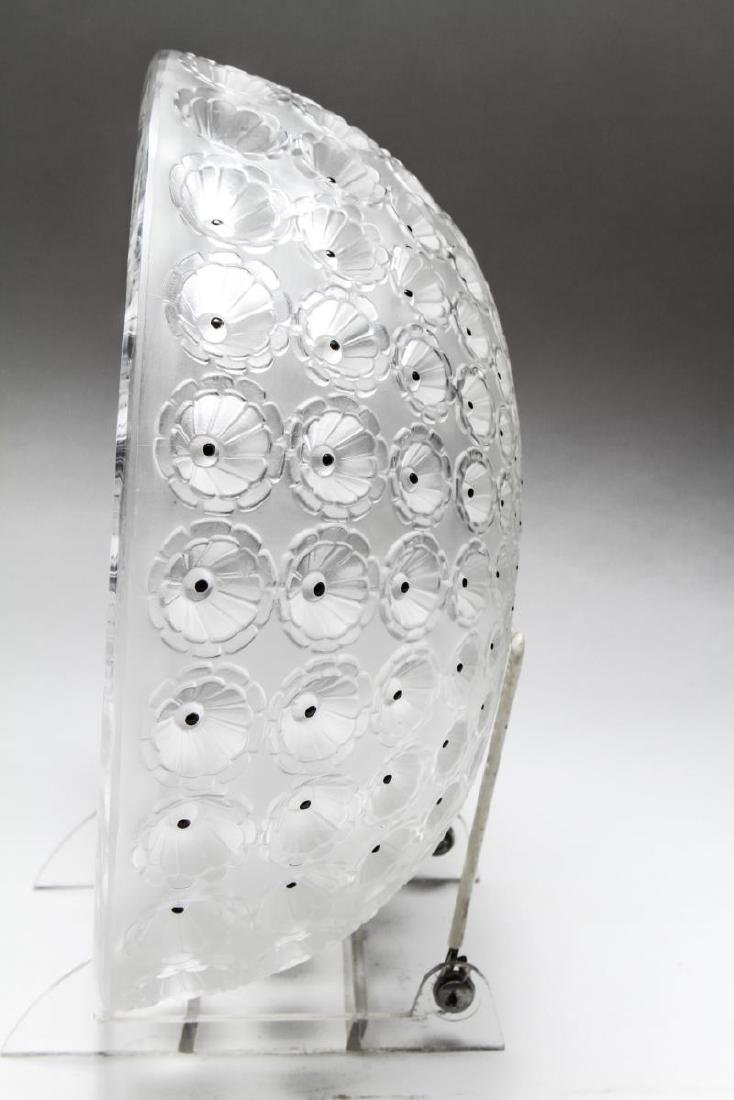 """Lalique Frosted Crystal """"Nemours"""" Bowl - 4"""