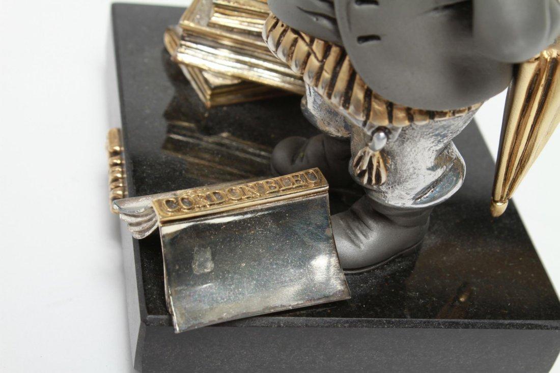 Frank Meisler Judaica-Silver & Goldplate Reb Chaim - 10