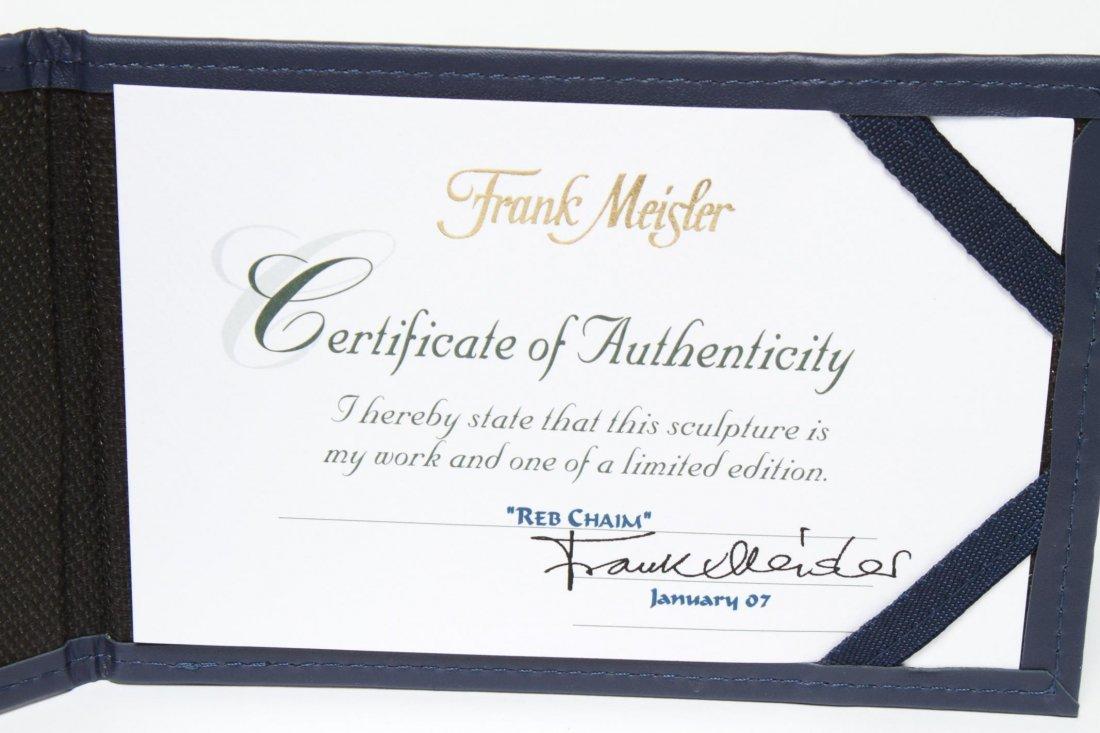 Frank Meisler Judaica-Silver & Goldplate Reb Chaim - 5