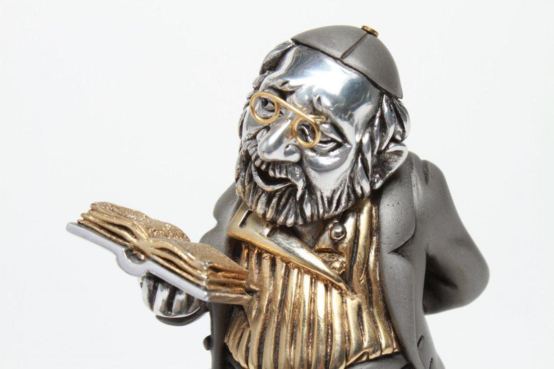 Frank Meisler Judaica-Silver & Goldplate Reb Chaim - 6