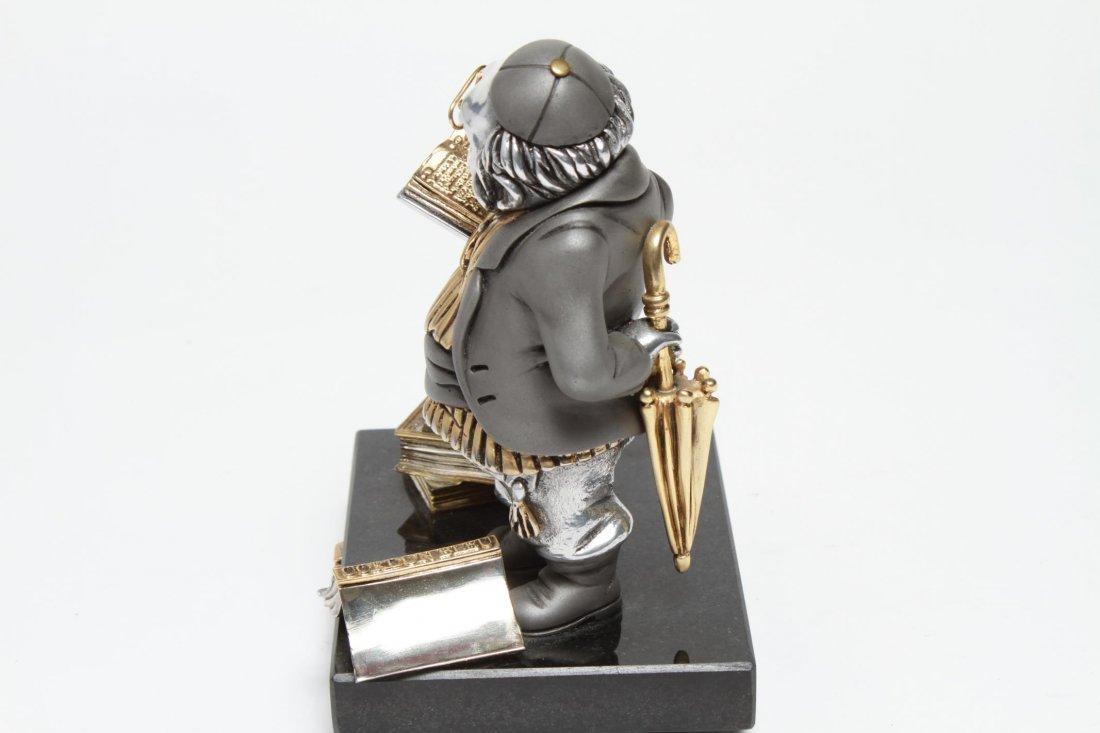 Frank Meisler Judaica-Silver & Goldplate Reb Chaim - 7