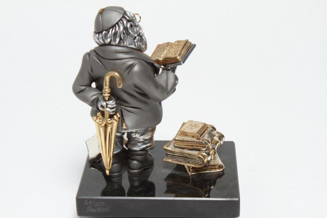 Frank Meisler Judaica-Silver & Goldplate Reb Chaim - 8