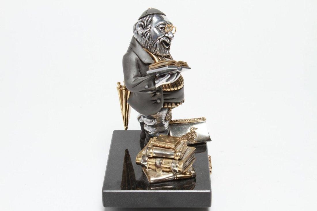 Frank Meisler Judaica-Silver & Goldplate Reb Chaim - 9