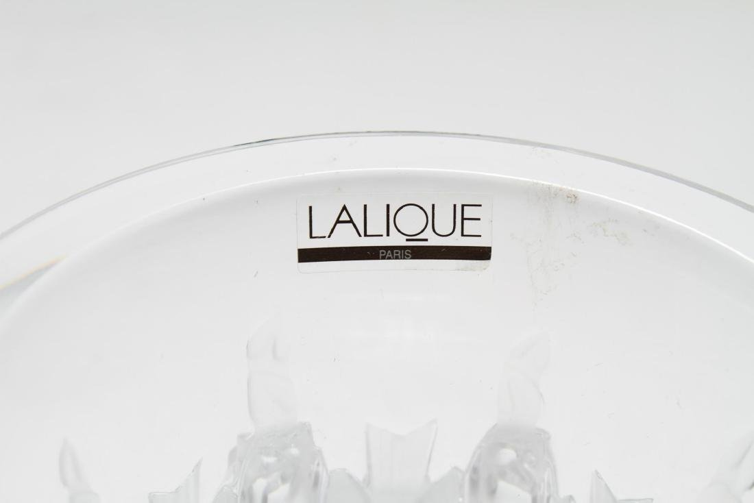 """Lalique Crystal """"Dampierre"""" Vase - 7"""