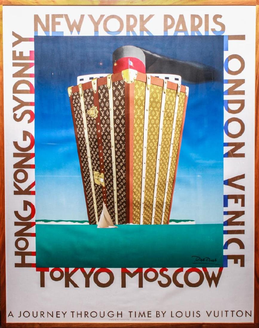 "Louis Vuitton ""A Journey Through Time""- Poster"