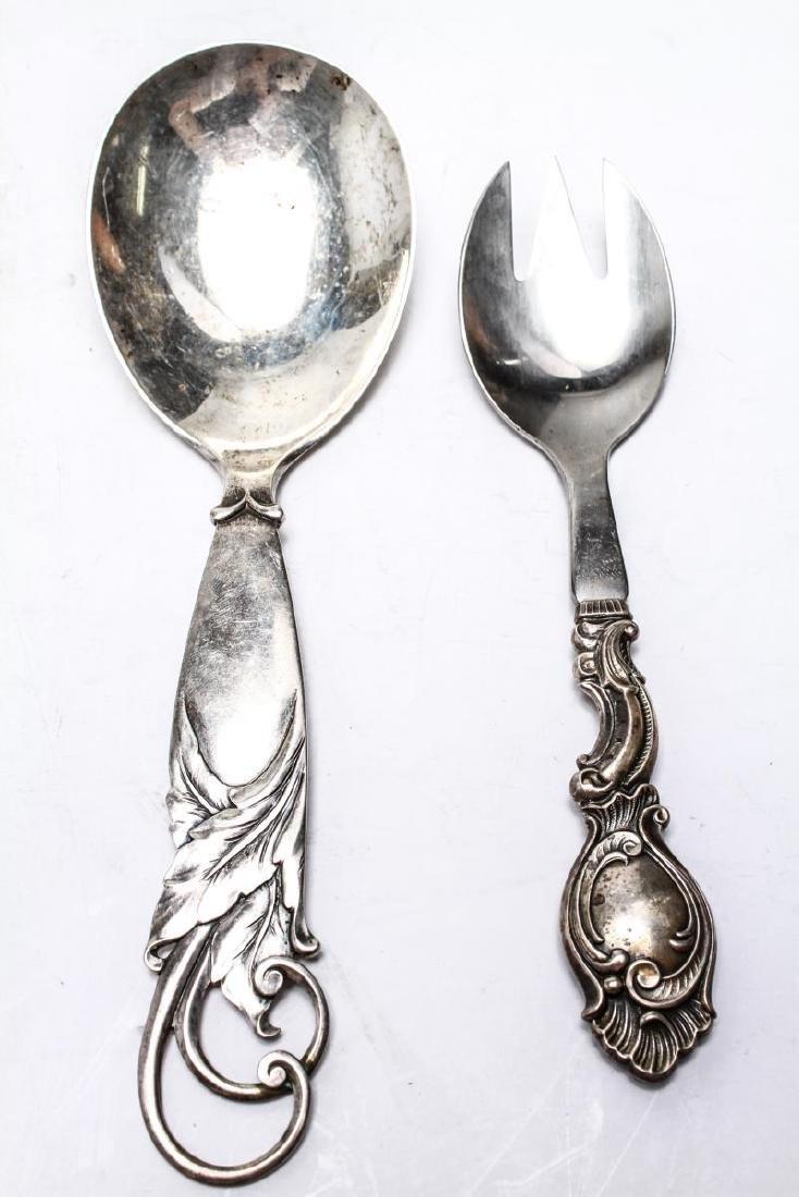 Danish Silver Siggaard & Heise Six Serving Pcs, 6 - 6