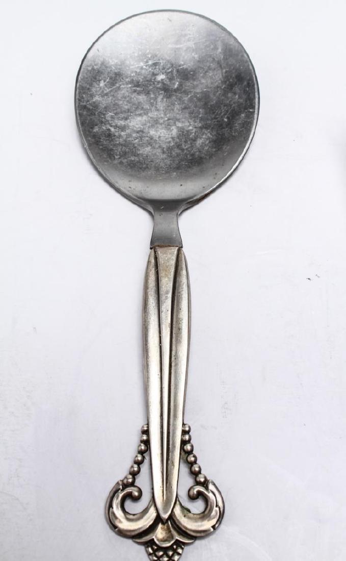 Danish Silver Siggaard & Heise Six Serving Pcs, 6 - 8