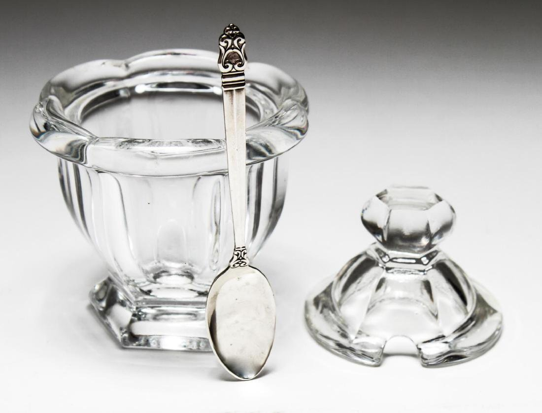 "Baccarat Crystal ""Missouri"" Covered Sugar Bowl - 3"