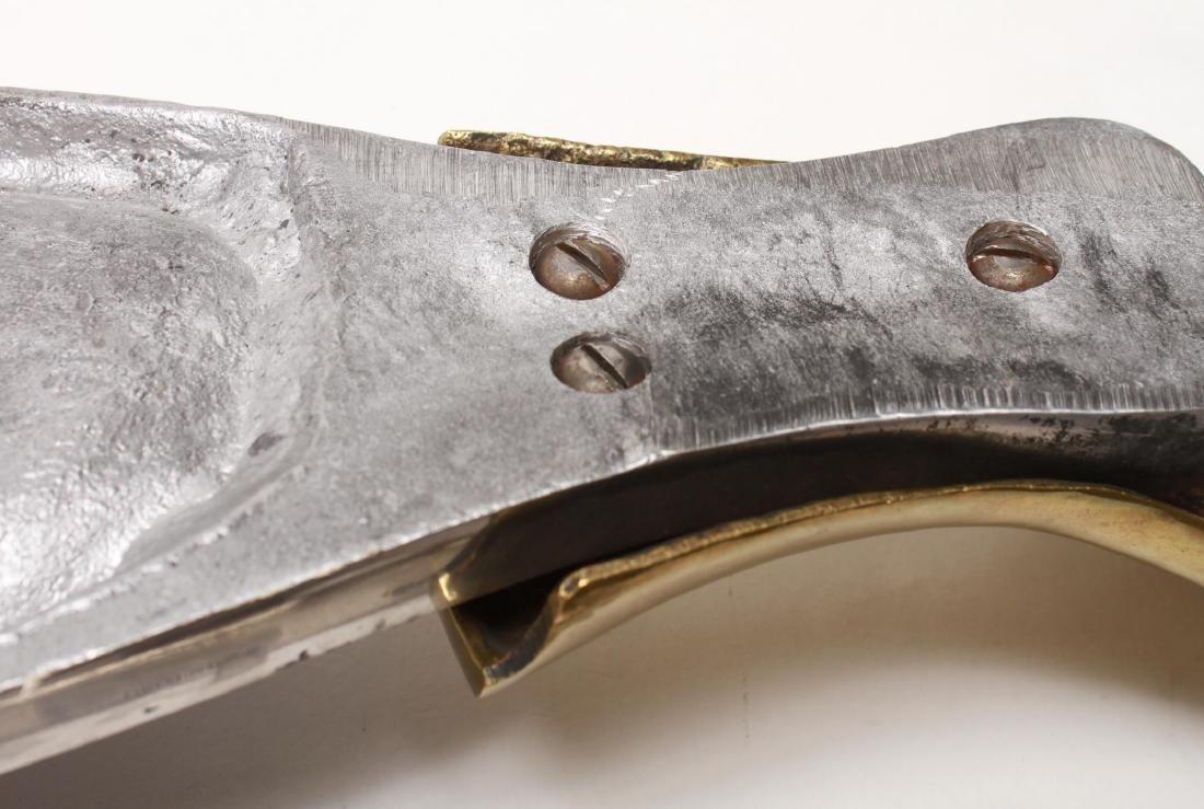 Italian Fish Platter, Aluminum and Brass - 6