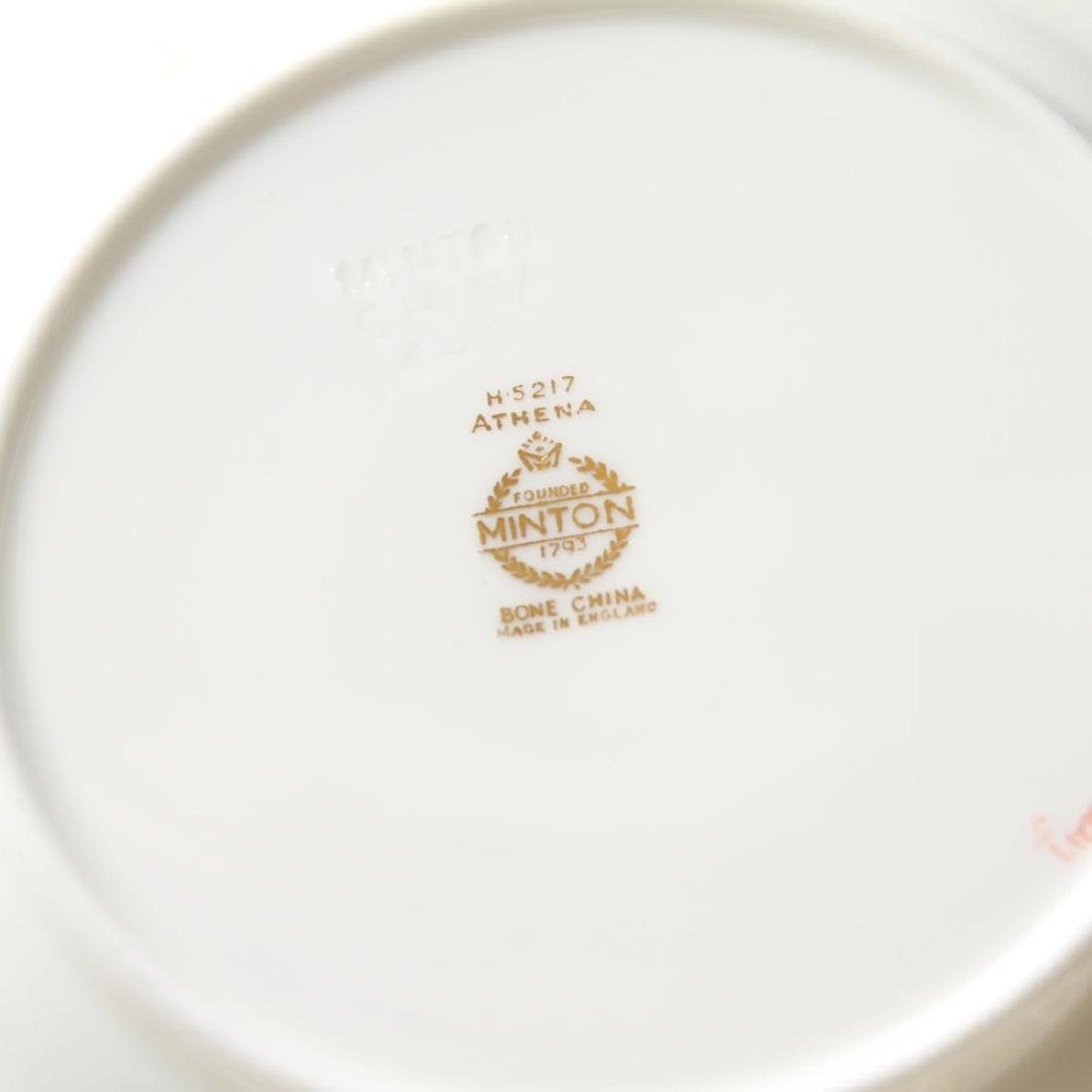 "Minton Bone China ""Athena Ivory"" Dinner Svc for 16 - 5"