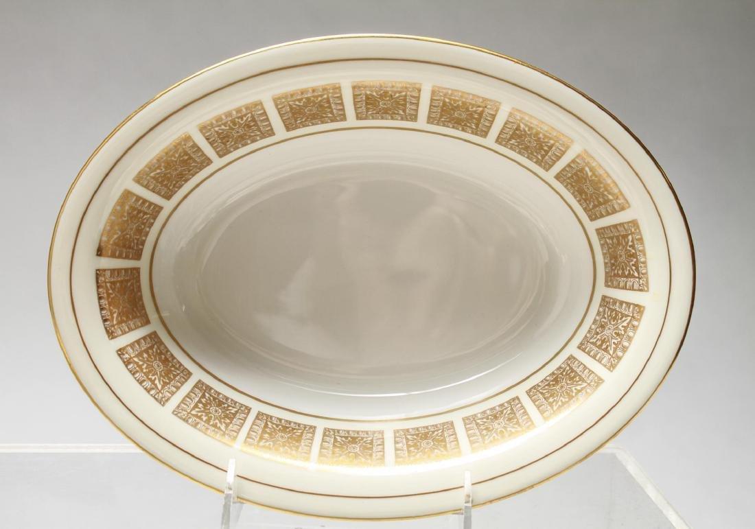 "Minton Bone China ""Athena Ivory"" Dinner Svc for 16 - 7"