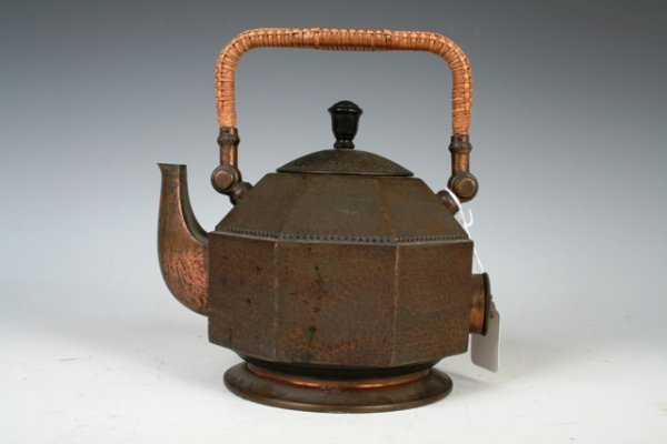 504: Peter Behrens for AEG Copper Teapot c1903