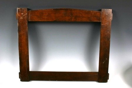 515: Arts and Crafts Oak Frame Double Pegged L&J G Stic