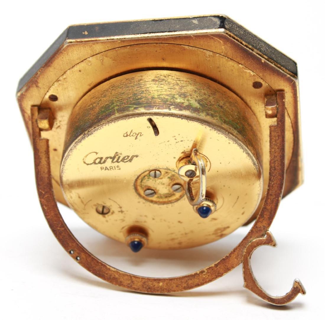 Cartier Swiss Travel Alarm Clock, Vintage - 3