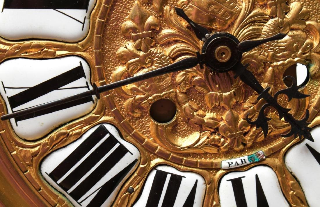 Lerolle Freres Gilt Bronze Cartel Clock c. 1870 - 10