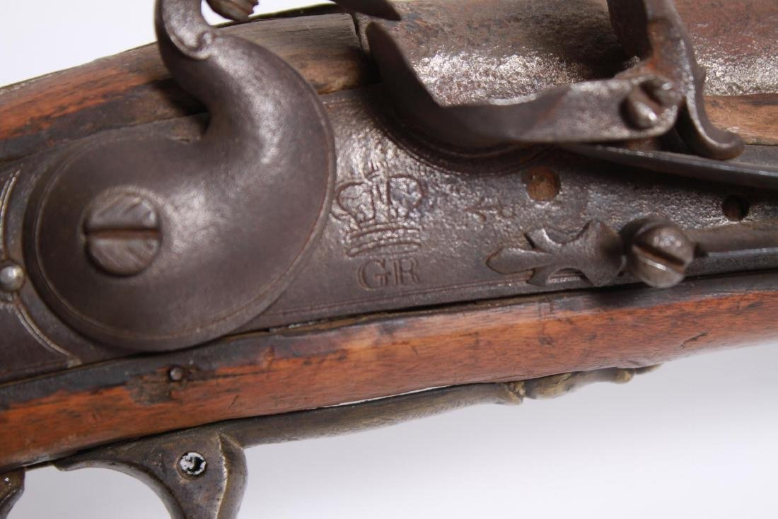 English Revolutionary War-Era Brown Bess Musket - 3