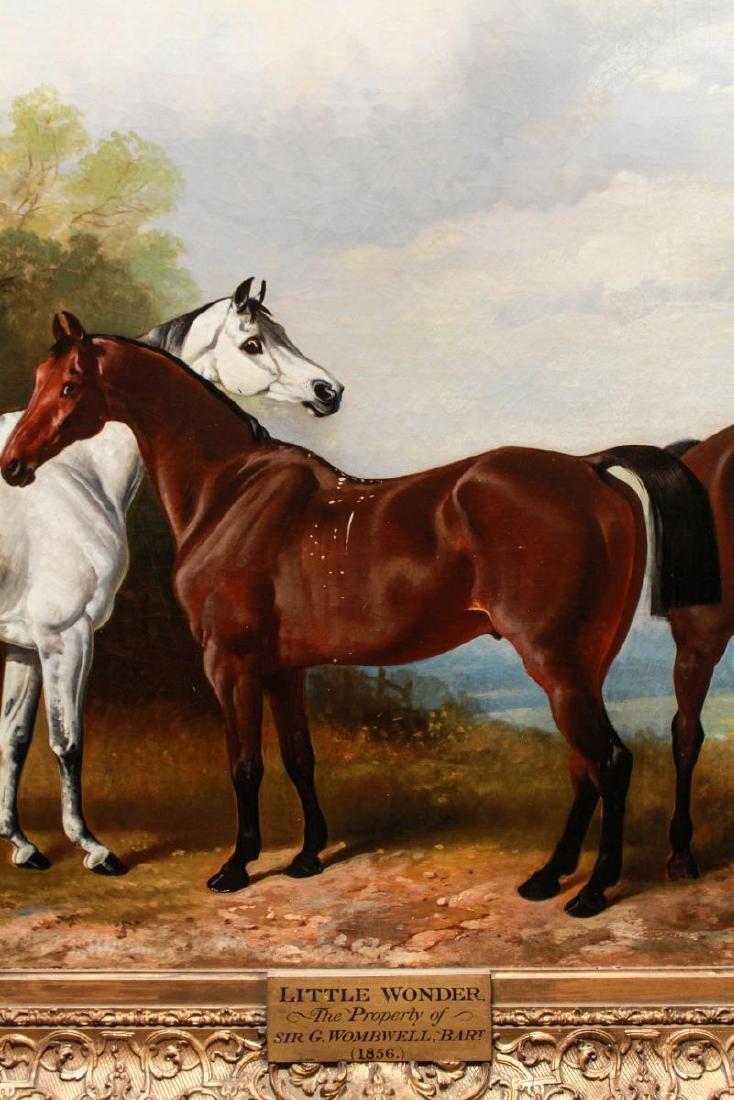 Henry Barraud Equestrian Portraits - 3 Horses, Oil - 9