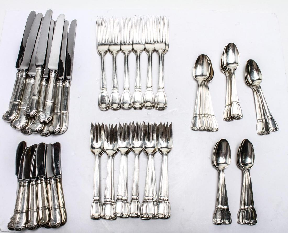 "Tiffany & Co. Silver ""Castilian"" Flatware Service - 2"