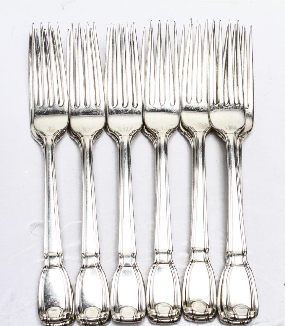 "Tiffany & Co. Silver ""Castilian"" Flatware Service - 3"