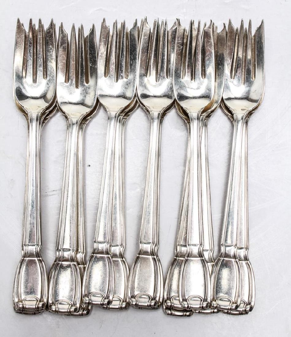 "Tiffany & Co. Silver ""Castilian"" Flatware Service - 4"