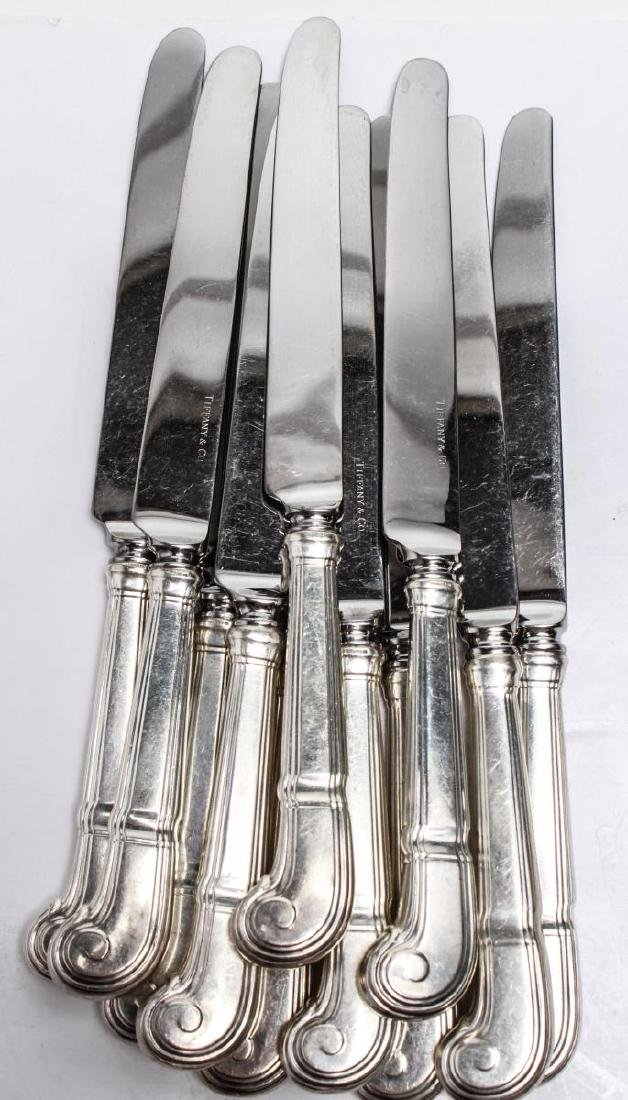 "Tiffany & Co. Silver ""Castilian"" Flatware Service - 7"