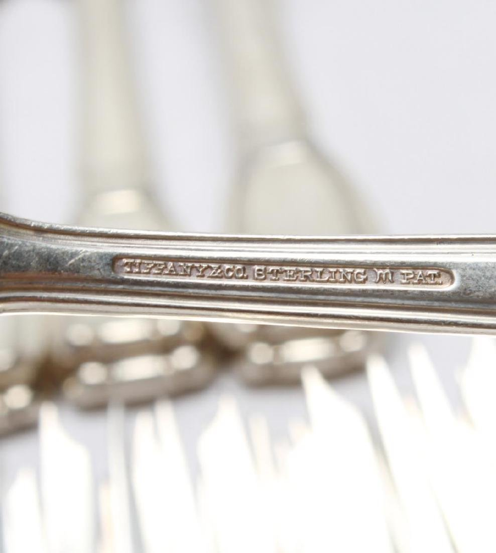 "Tiffany & Co. Silver ""Castilian"" Flatware Service - 9"