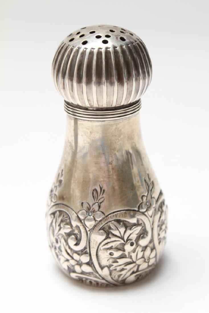 Gorham Sterling Repousse Salt & Pepper Shakers Pr - 5