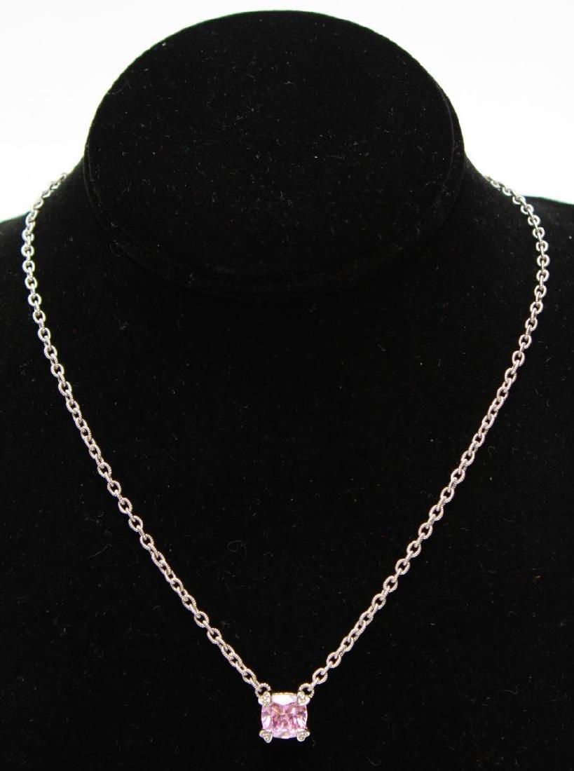 Judith Ripka 18K Gold Sterling Diamond Jewelry, 4 - 2