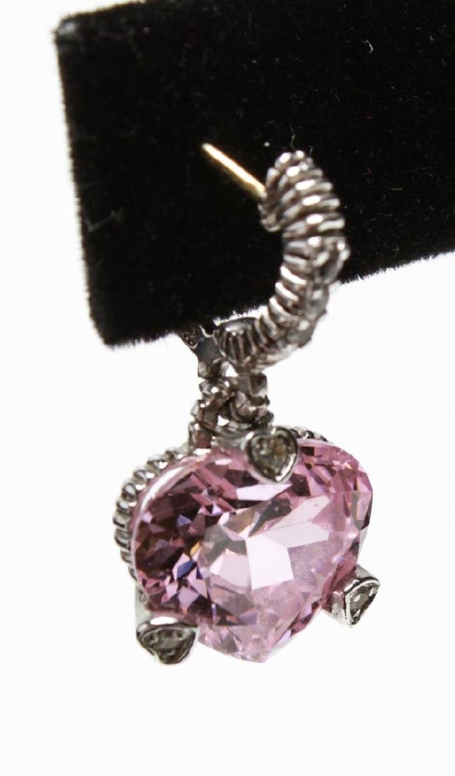 Judith Ripka 18K Gold Sterling Diamond Jewelry, 4 - 9