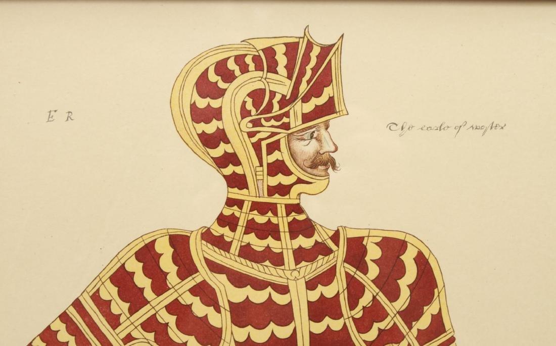 Tudor Military Suits of Armor Prints, 1905 - Pair - 10