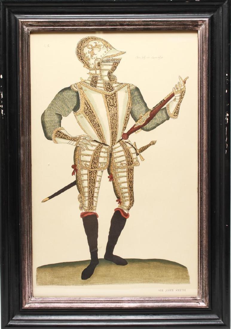 Tudor Military Suits of Armor Prints, 1905 - Pair - 3