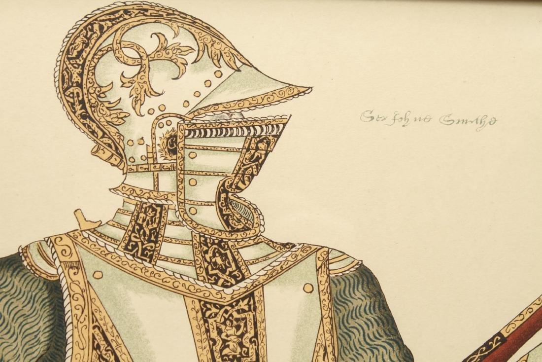 Tudor Military Suits of Armor Prints, 1905 - Pair - 4